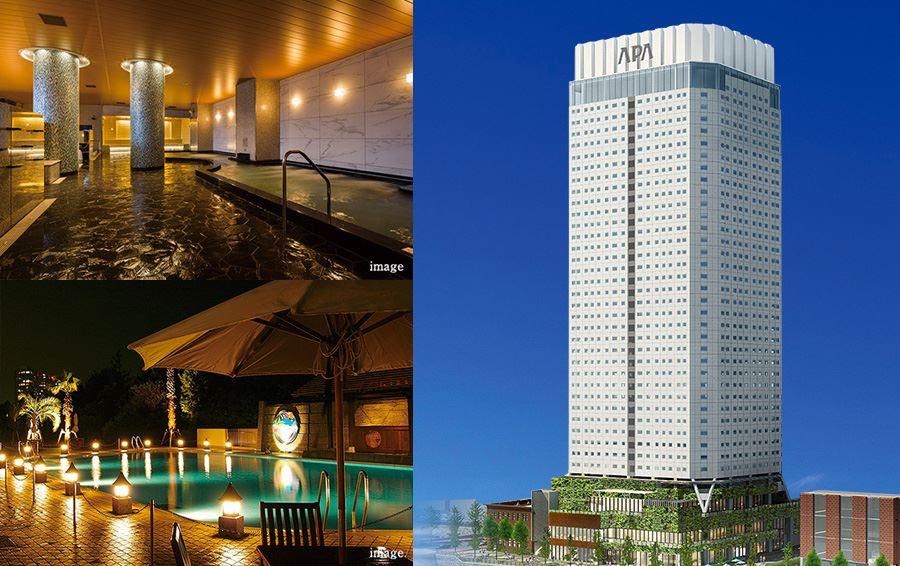 アパホテル&リゾート〈横浜ベイタワー〉外観予想図