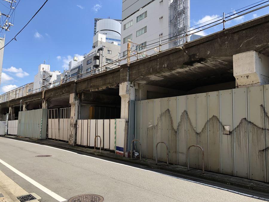 東急東横線高島町駅跡