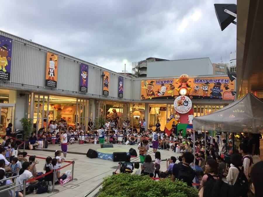 横浜アンパンマンこどもミュージアム&モールの様子