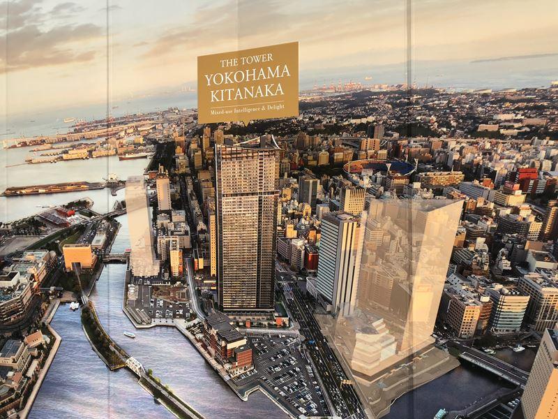 横浜北仲通地区に建設予定のザタワーキタナカ