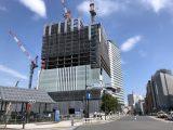 横浜市役所 新市庁舎建設工事の進み具合(更新:2018年11月)