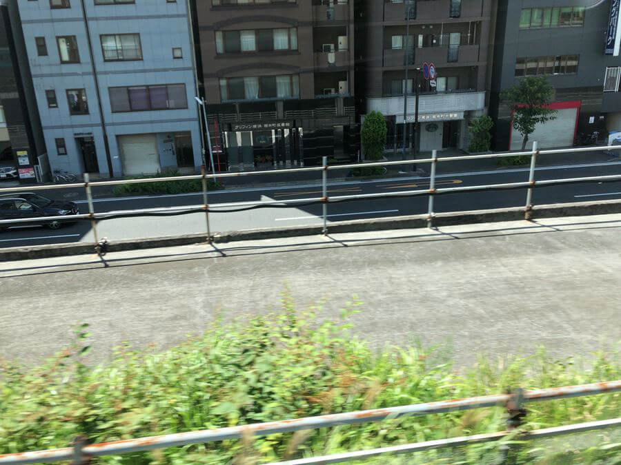 まだ残る東急東横線桜木町駅からの線路跡