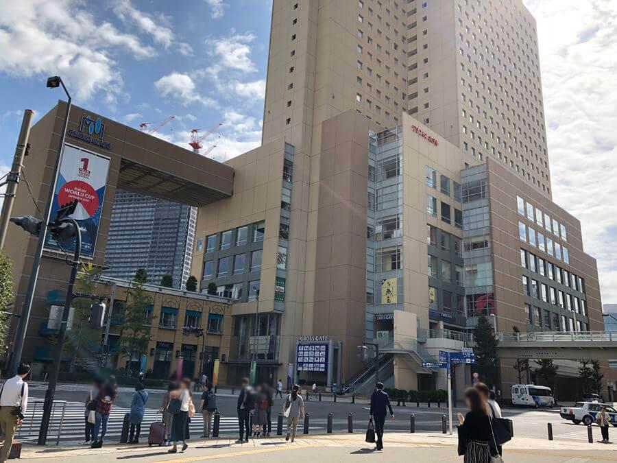 桜木町駅前にあるクロスゲート外観写真