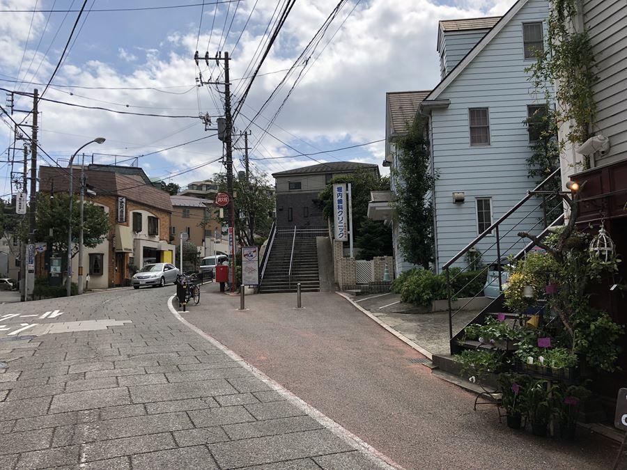 元町百段公園までのルート