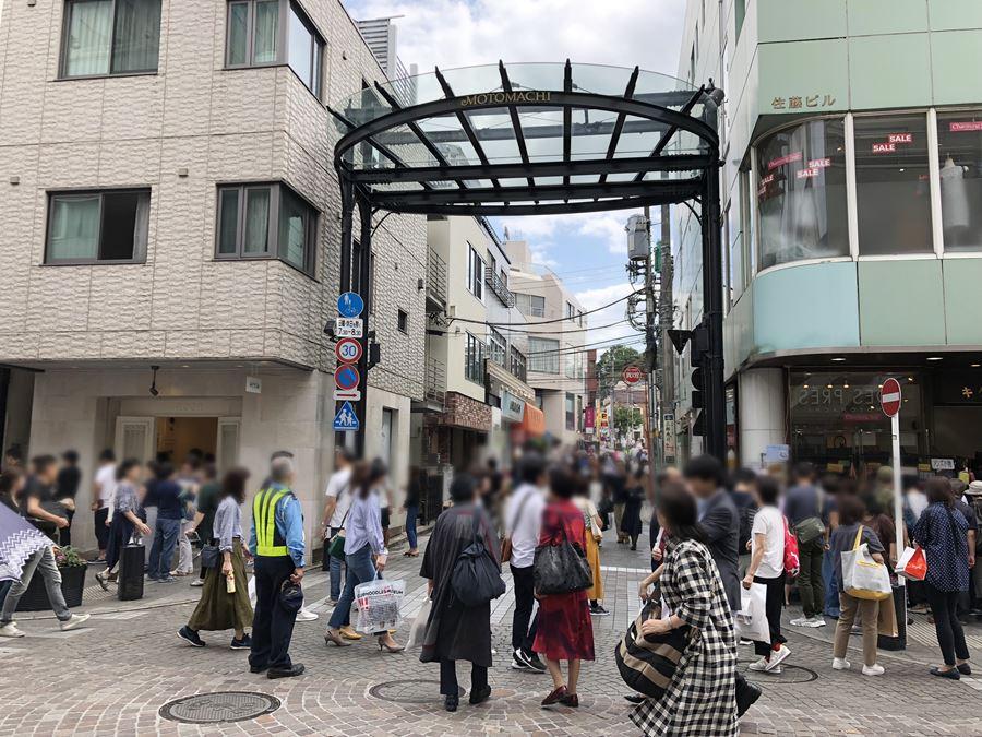 元町ショッピングストリートの写真