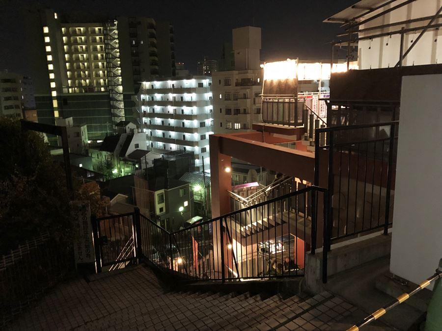 成田山横浜別院延命院から見た景色