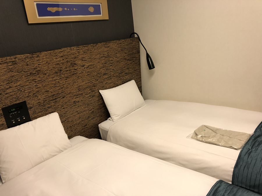 ホテルヴィラフォンテーヌ上野の客室:ツイン