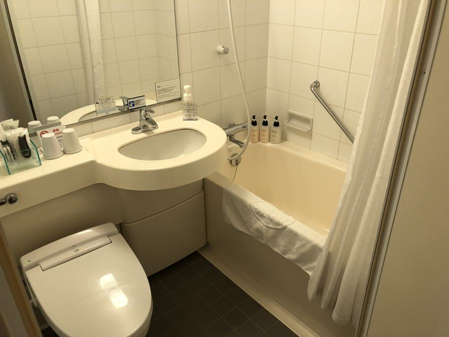 ホテルヴィラフォンテーヌ上野の客室:バスルーム