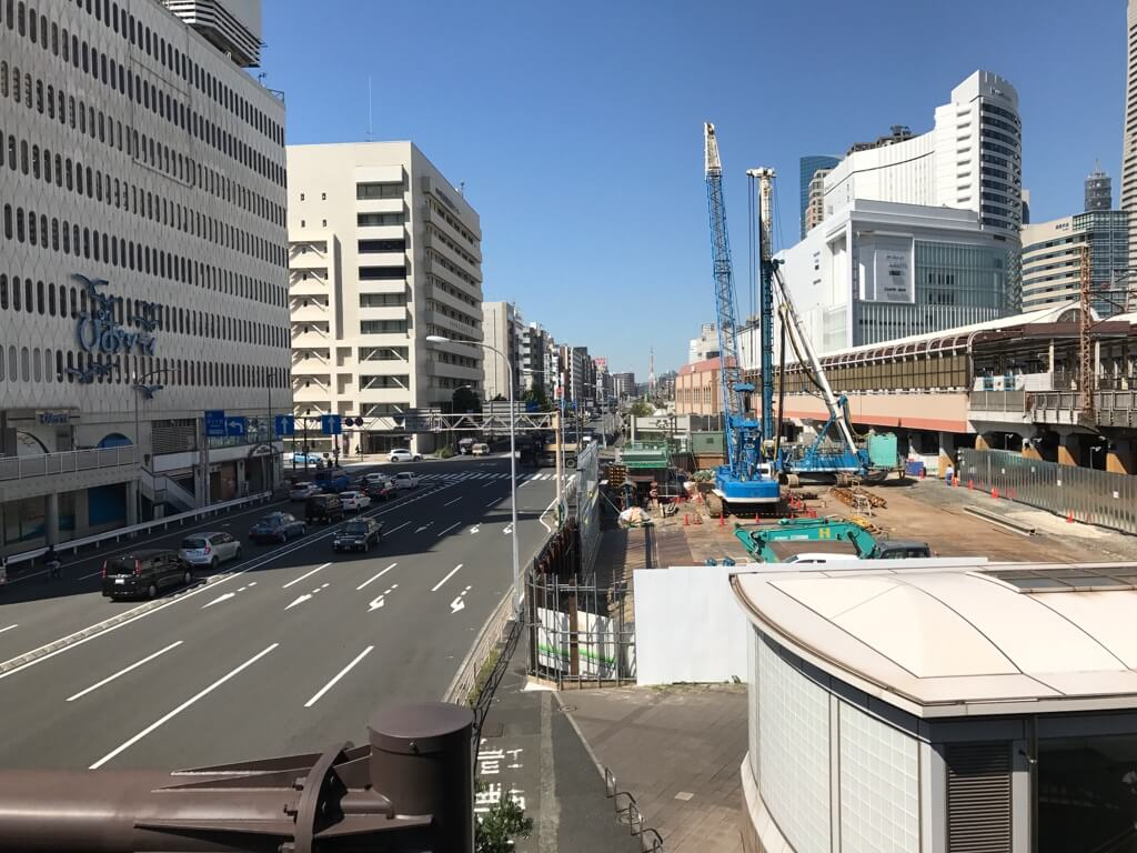 建設中のCIAL桜木町 別館の写真
