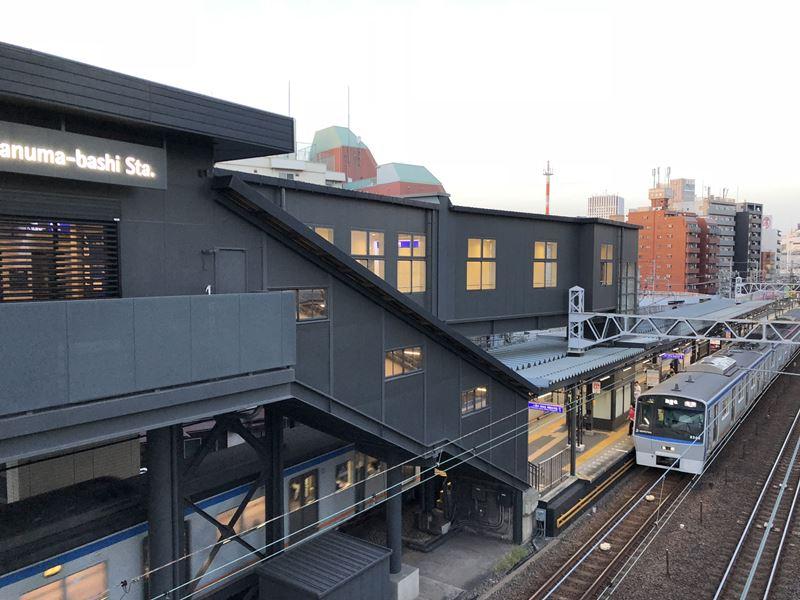 平沼橋駅のリニューアル