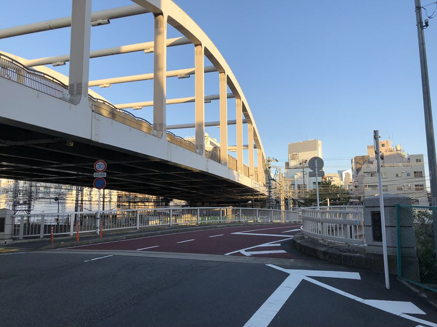 元平沼橋と平沼橋
