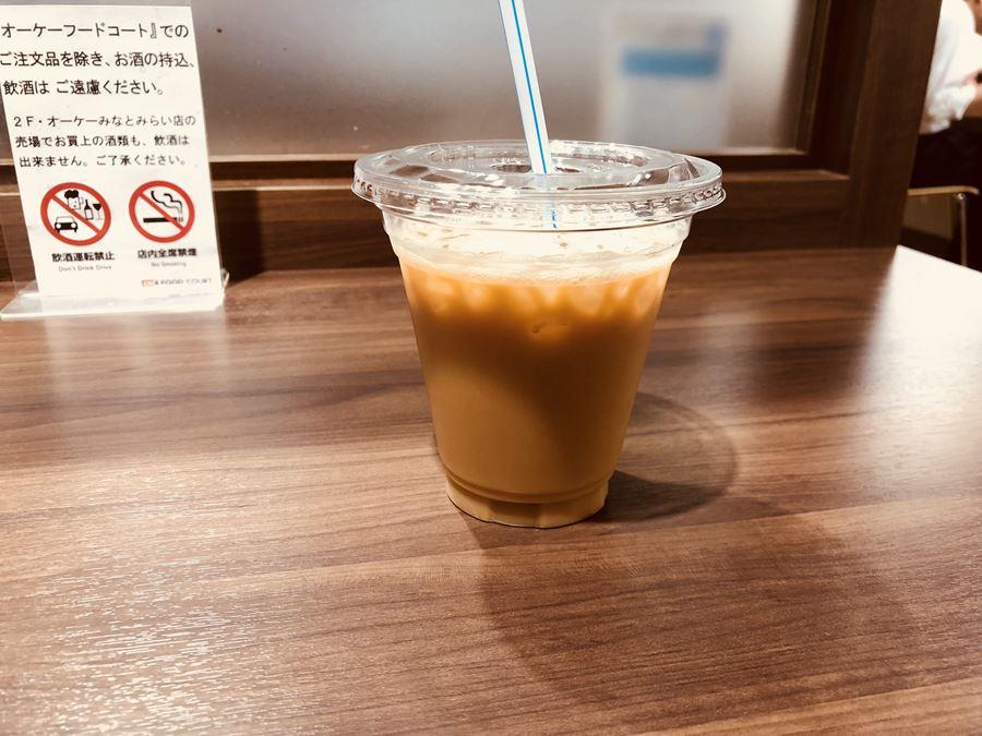 オーケーストアみなとみらいの3Fにある「OK食堂 旬」のコーヒー