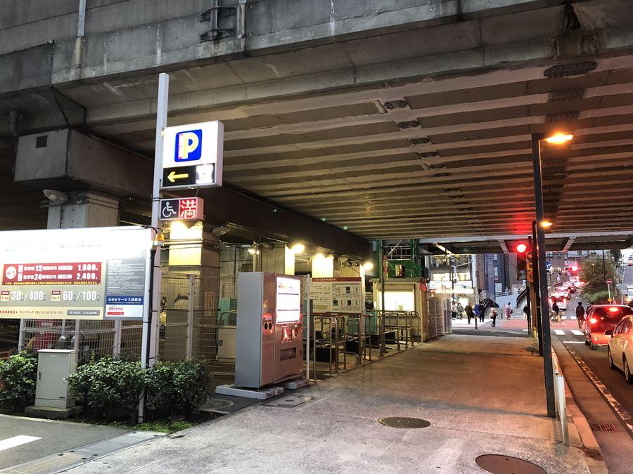 CIAL桜木町の駐輪場外観写真