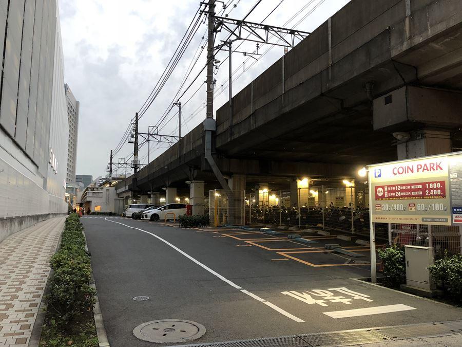 CIAL桜木町の駐車場写真