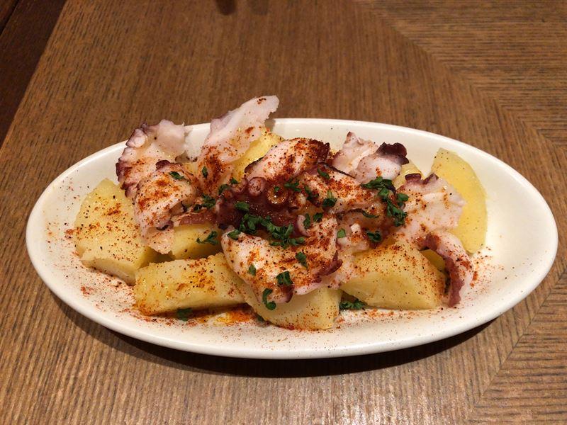 コレットマーレにあるタパスブランコのタコのガルシア