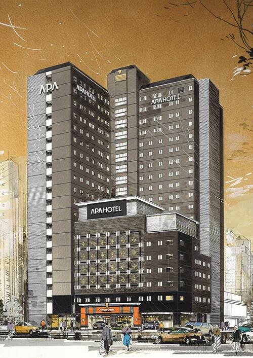 アパホテル&リゾート〈西新宿五丁目駅タワー〉