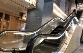ジョイナス地下2階にあるエスカレーター