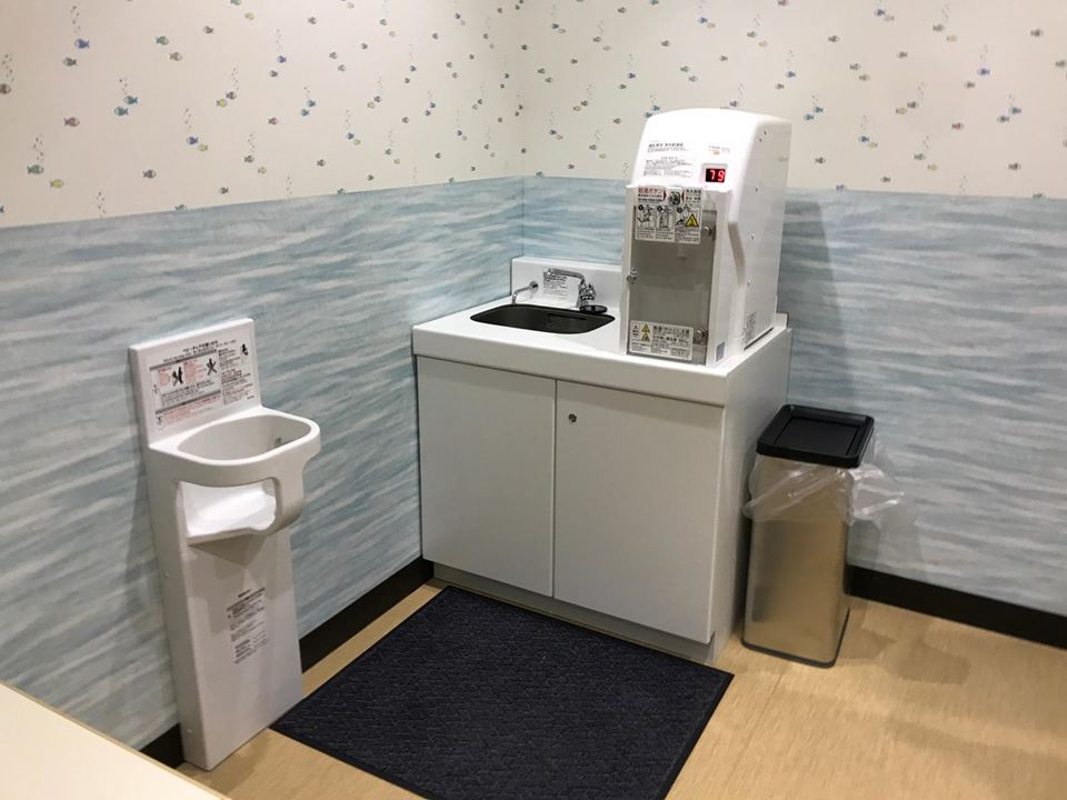 港山下ナナイロの授乳室写真(2F)