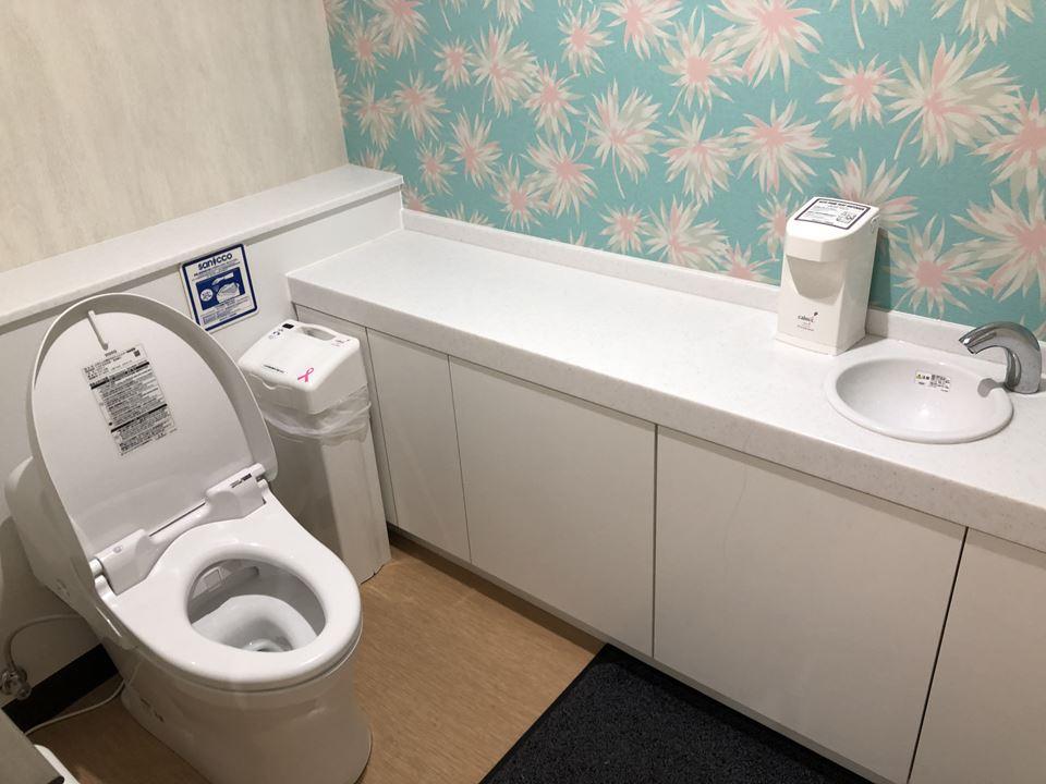 港山下ナナイロの2Fにあるファミリートイレ