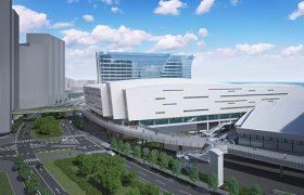 パシフィコ横浜ノースの完成予想図