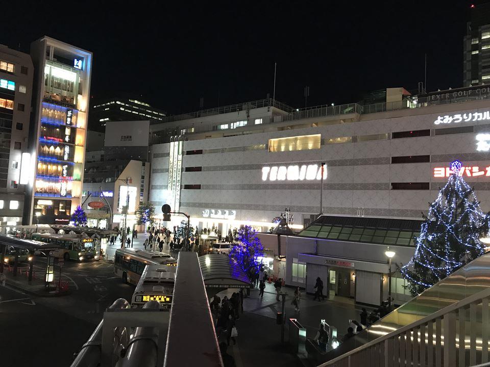 JR錦糸町駅南口の様子