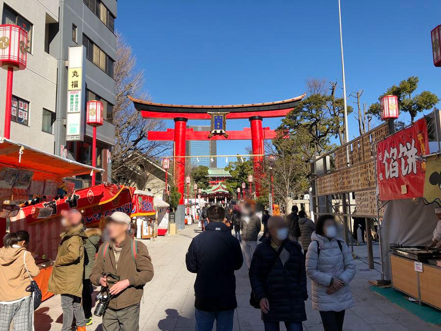 2018年1月4日の富岡八幡宮