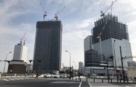 横浜北仲通地区の再開発写真