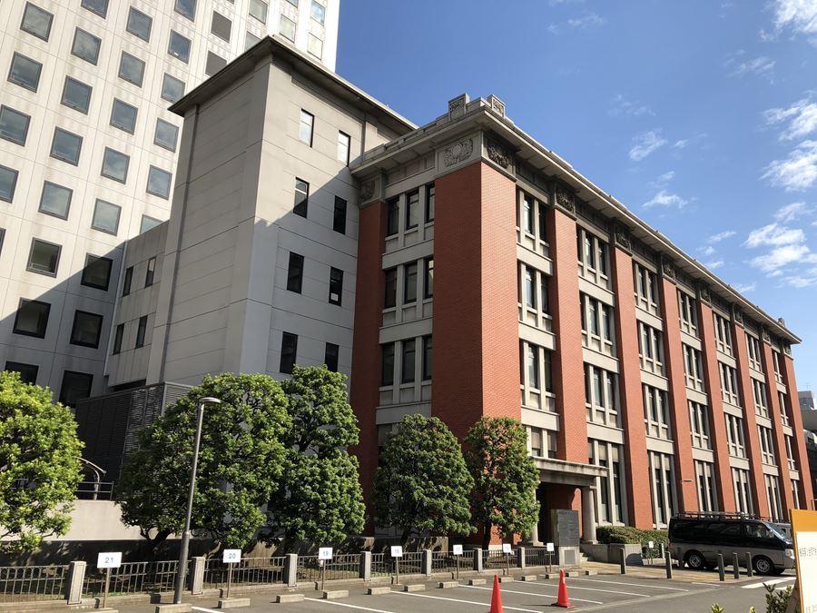 横浜市第2合同庁舎の外観写真
