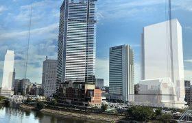 北仲通地区に建設中のザ・タワー・ヨコハマキタナカの完成予想図