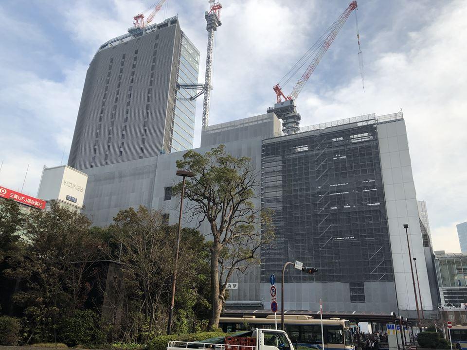 建設中の「JR横浜タワー」