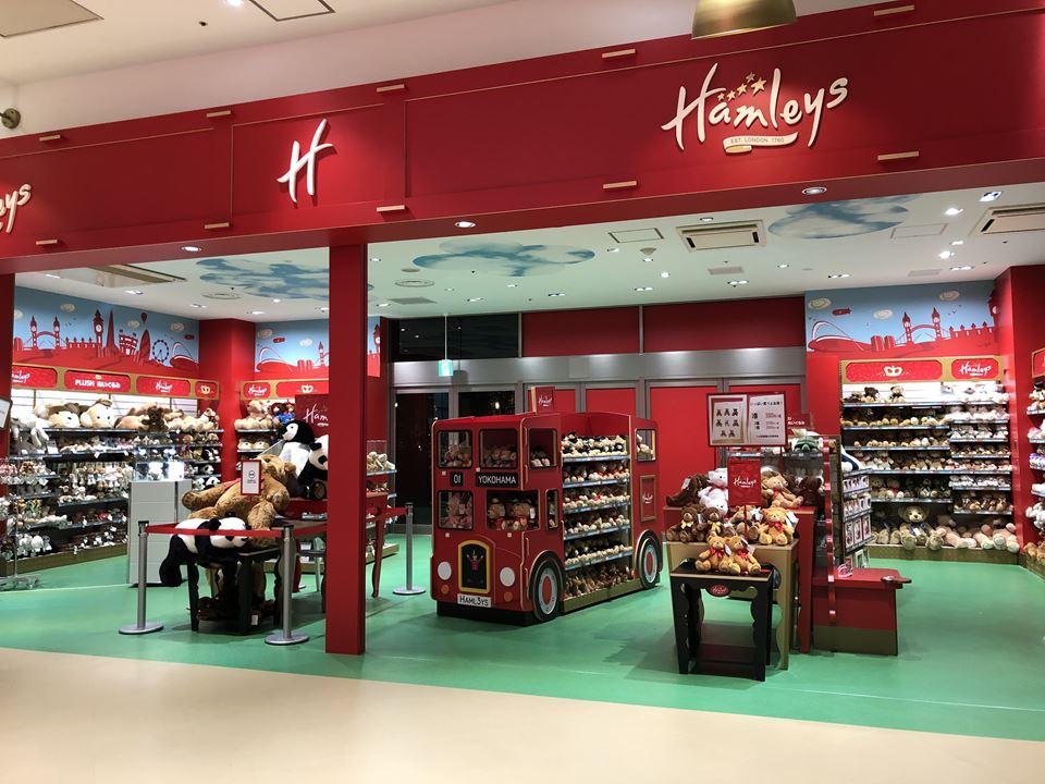 Hamleys/ハムリーズ 横浜ワールドポーターズ店の店内写真