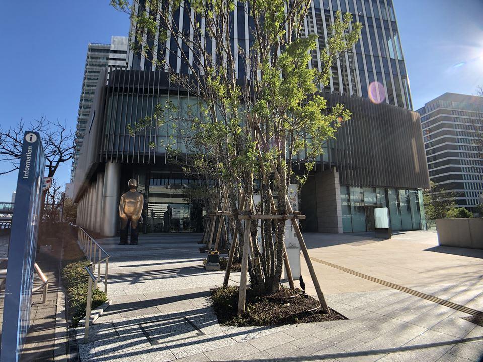 原鉄道模型博物館が入居する、横浜三井ビル
