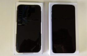 iPhoneXの新品交換