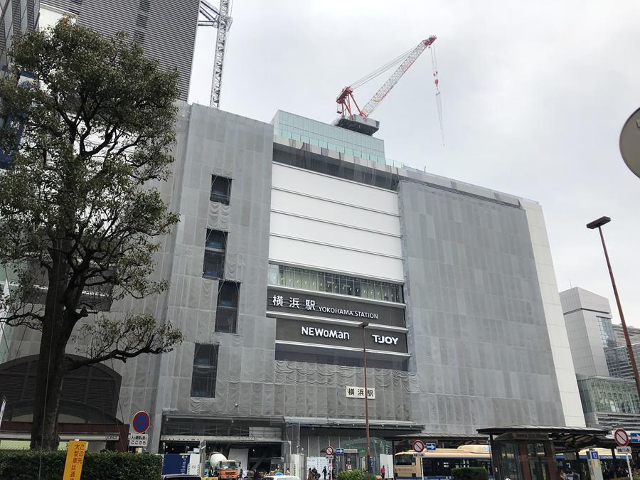 JR横浜タワー2019年3月の様子