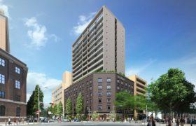 Citadines(シタディーン)が入居予定の、横浜日本大通プロジェクトの外観イメージ写真
