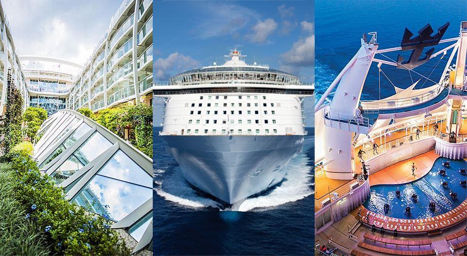 世界最大の豪華客船オアシスオブザシーのイメージ写真