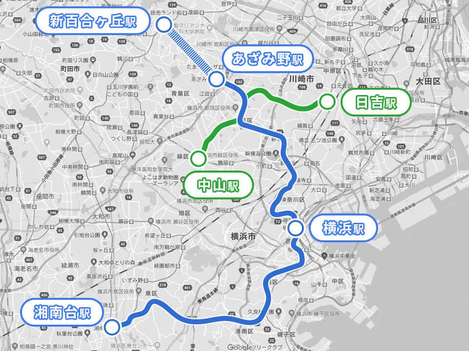 横浜市営地下鉄ブルーライン3号線延伸計画