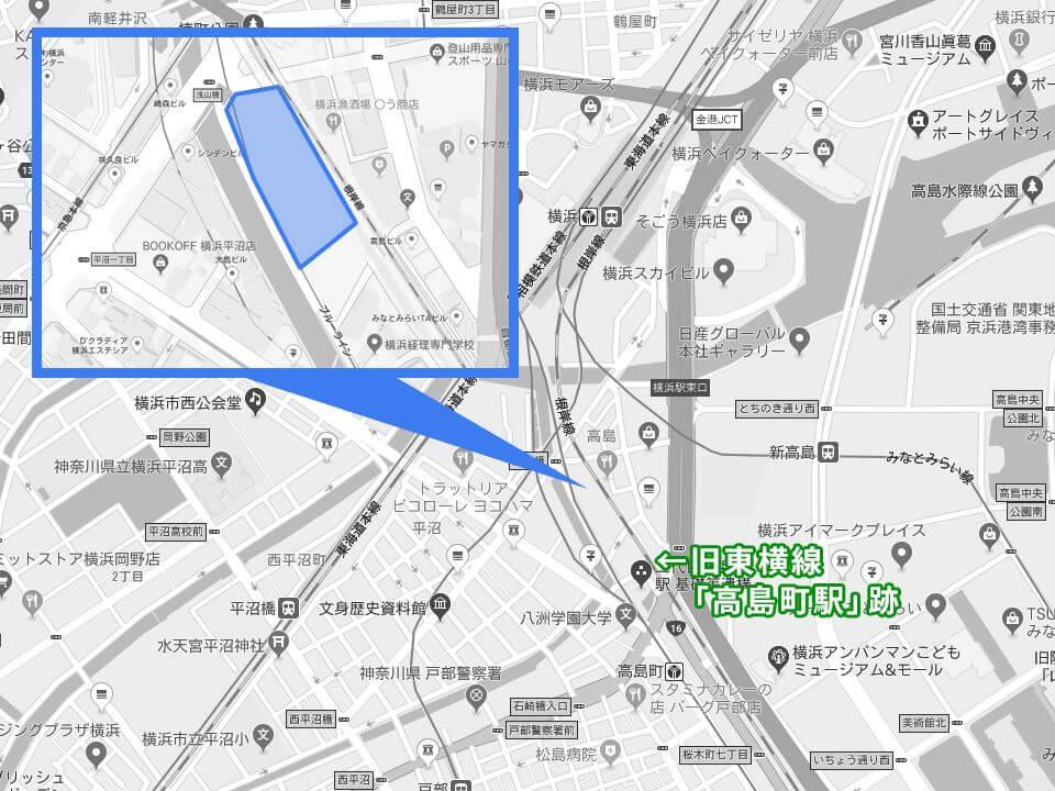 (仮称)真澄寺横浜別院新築工事のマップ