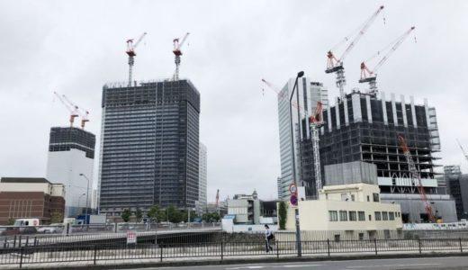 [2018年8月]横浜北仲3兄弟の工事具合