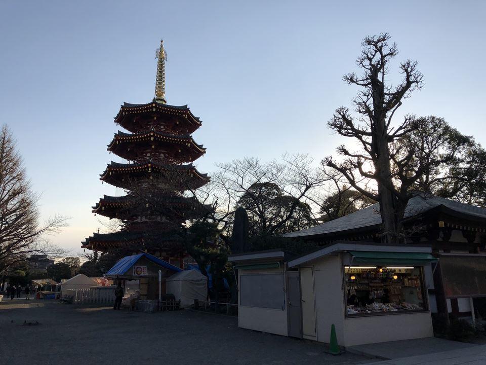 川崎大師平間寺の境内写真