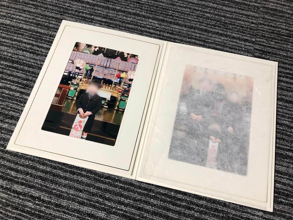 成田山横浜別院の七五三記念品