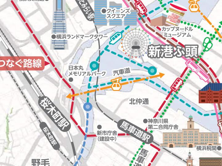 横浜市が発表。2020年、みなとみらいに新交通「ロープウェー」登場!
