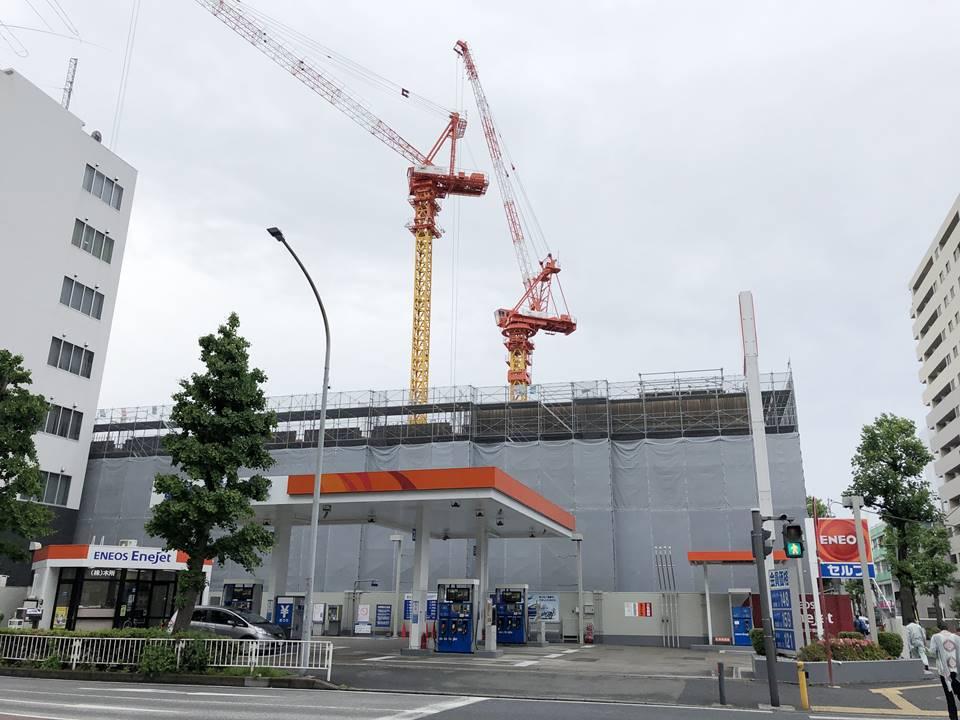 横浜文化体育館再整備事業(仮称)サブアリーナ新築工事の写真