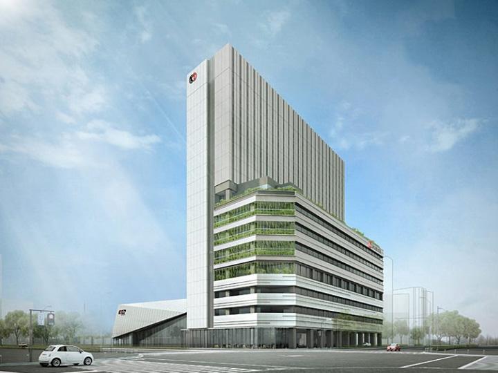 [2020年1月竣工予定]コーエーテクモ本社ビル・東急REIホテル・KT Zepp Yokohama