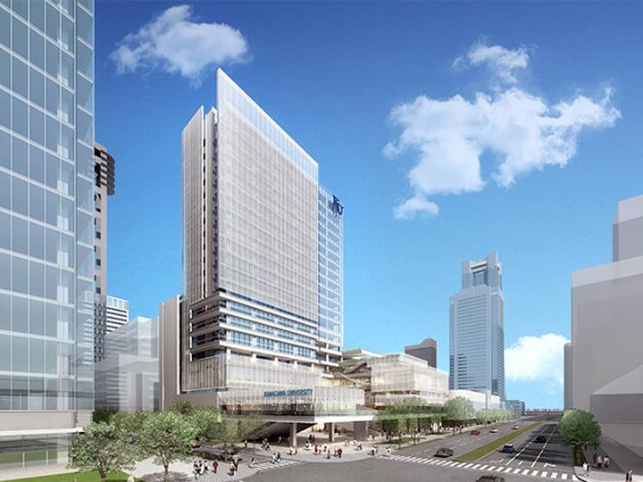 [2020年11月竣工予定]神奈川大学みなとみらいキャンパス