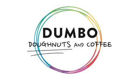 「DUMBO Doughnuts and Coffee」のロゴ