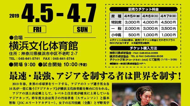 アジアカップ横浜2019