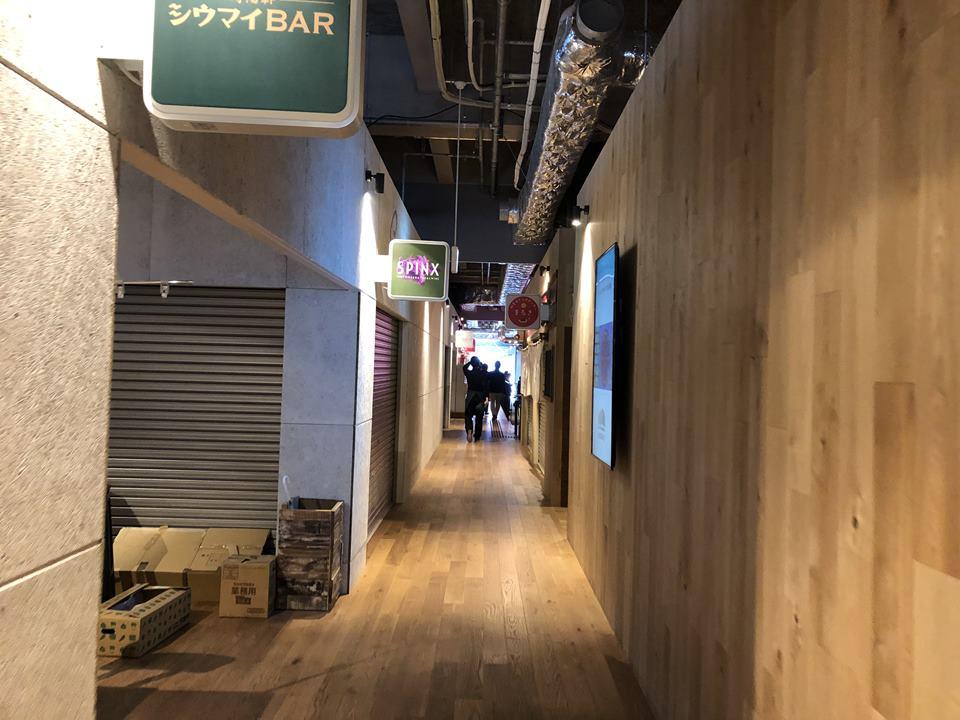 横浜駅東口アソビルの内観写真