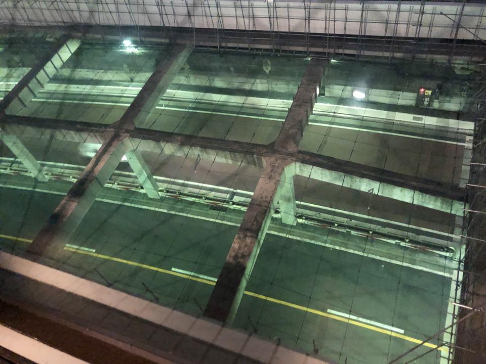 フライデーズMM21クロスゲート店から見える景色