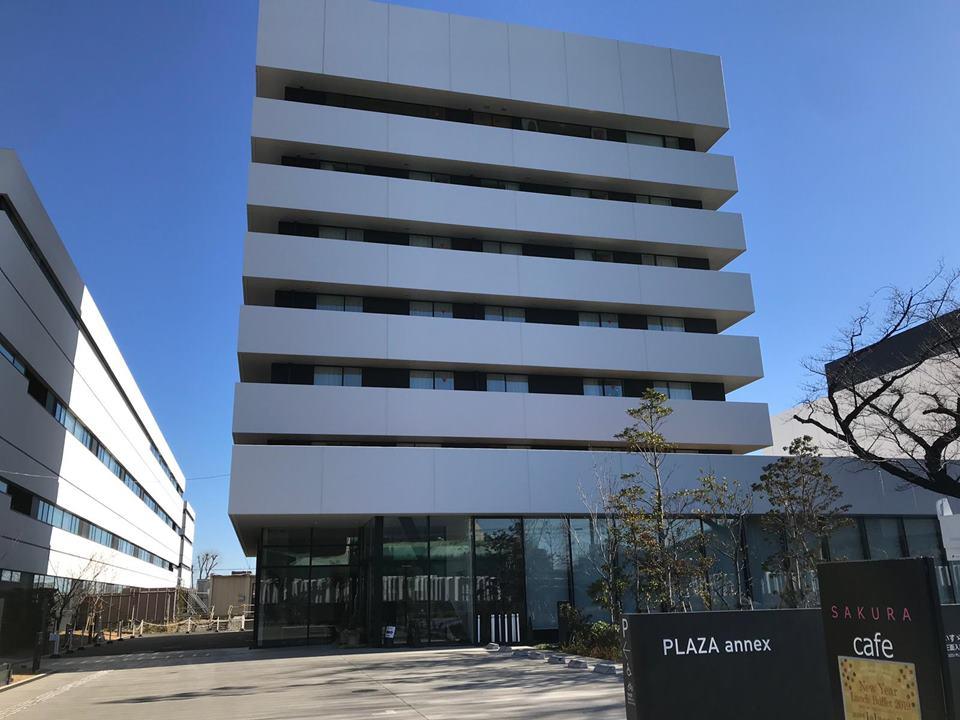 いすゞ自動車藤沢工場の目の前にあるPLAZA annex
